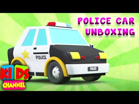 police-car-unboxing-videos-for-children---kids-channel