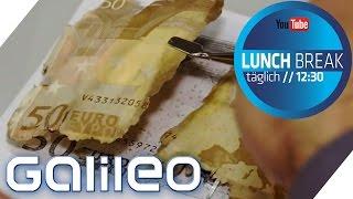Was ist das? - Nopperin, Brettgeld und Aufreißzone | Galileo Lunch Break
