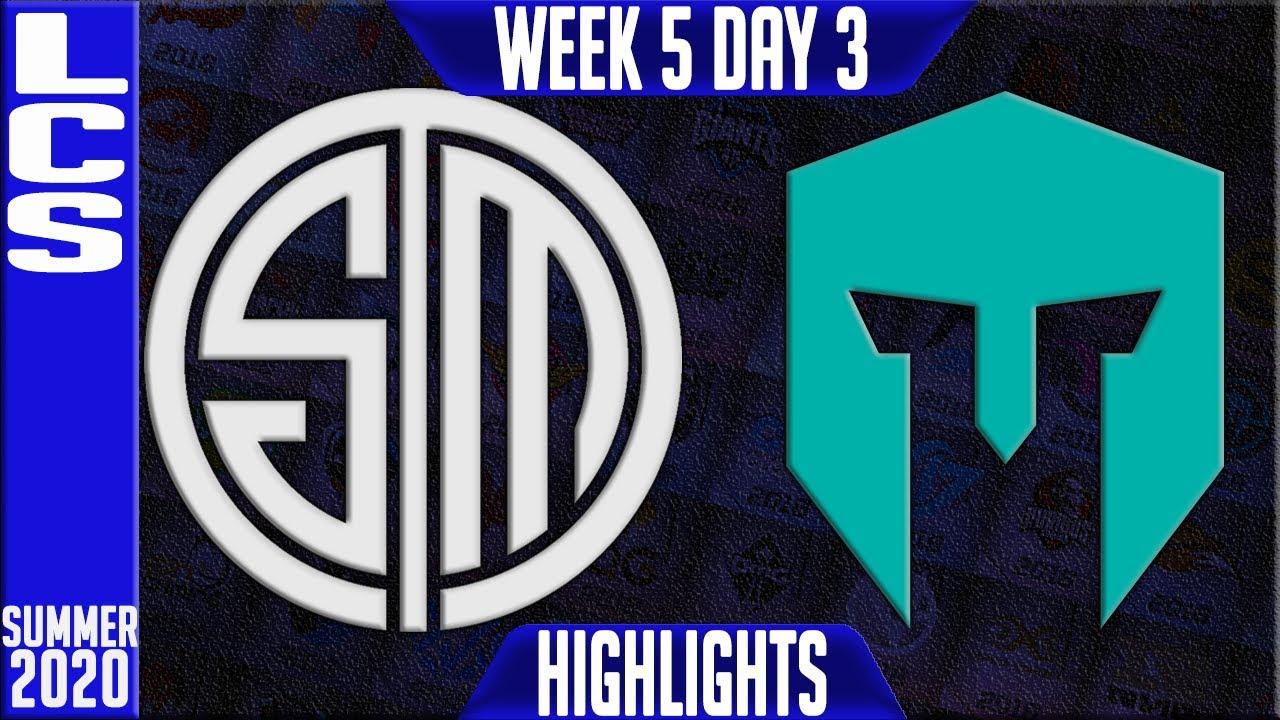 TSM vs IMT Highlights | LCS Summer 2020 W5D3 | Team Solomid vs Immortals