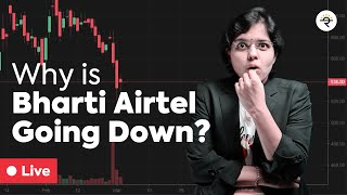 Why is Bharti Airtel Going down?  |  CA Rachana Ranade