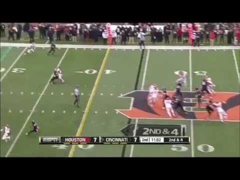 William Jackson - Houston Football - CB- 2014 Memphis & UC Game