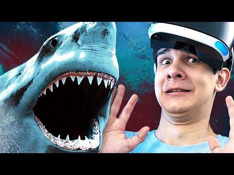 ВСТРЕЧА С АКУЛОЙ в PlayStation VR!