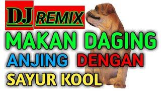 """DJ MAKAN DAGING ANJING DENGAN SAYUR KOOL VS LIRIKAN MATAMU REMIX TERBARU"""