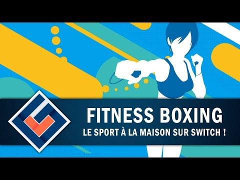 FITNESS BOXING : Le sport à la maison sur Switch   GAMEPLAY FR