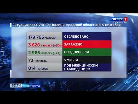 В Калининграде коронавирус выявили у преподавателя вуза
