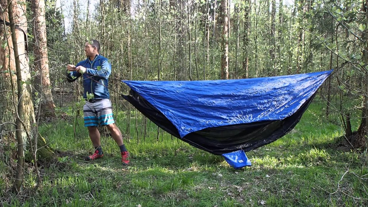 & Hammock Bliss Sky Tent - Volga River Russia - YouTube