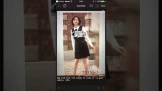 妄撮(妄想撮影)カメラ iOS版(Pythonista版) by using openpose.
