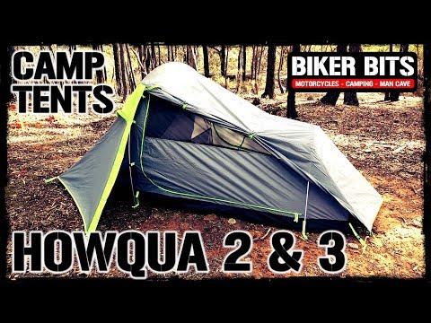 HOWQUA 2 & 3 Motorcycle Camping Tents