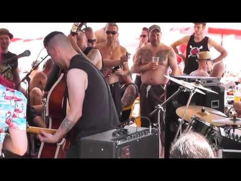 Luna Vegas. Psychobilly meeting 2013. Santi's beach bar (Pineda de Mar, Spain)