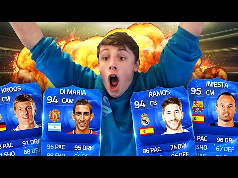 MOST EPIC TOTY WAGER EVER!! - FIFA 15