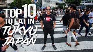 TOP 10 Things to Eat & Drink in Tokyo - Japan Travel Guide (Part 1)   SAM THE COOKING GUY 4K