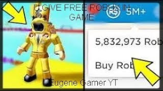Roblox Obby Actually Give You Free Robux! (Aug 2019) Eugene Gamer YT