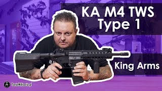 KA M4 TWS Type 1 (Ultra Grade II) King Arms - TANIEMILITARIA.PL