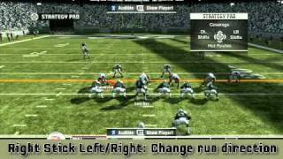Disguising Your Plays In Madden NFL 11