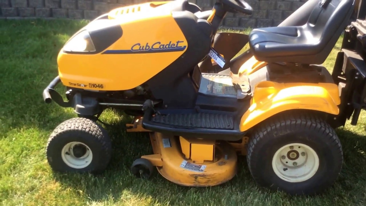 Cub Cadet Time Saver i1046 Lawn Mower | For Sale | Online Auction