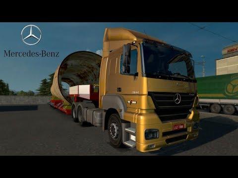 ETS2 V1.28 I Mod ★ Mercedes Benz Axor Original [Deutsch/HD]