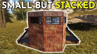 I RAIDED A SMALL BUT STACKED PVP BASE! - Rust Survival 4/4