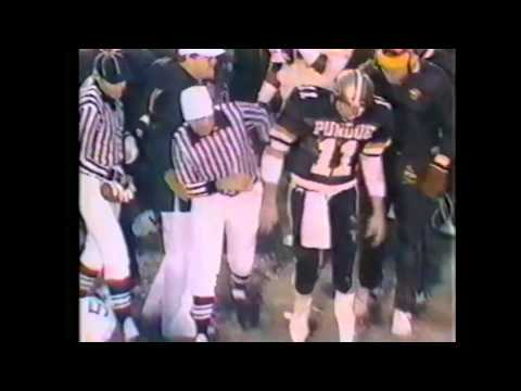 1985 #5 Iowa at Purdue Highlights