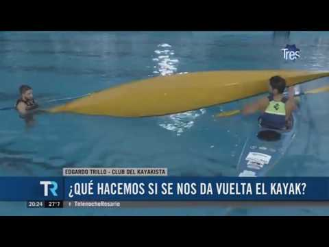 ¿Qué hacemos si se nos da vuelta un kayak?