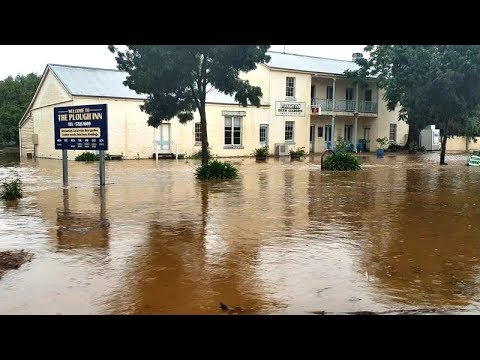 Flash flooding Tarrawingee December 13th 2018