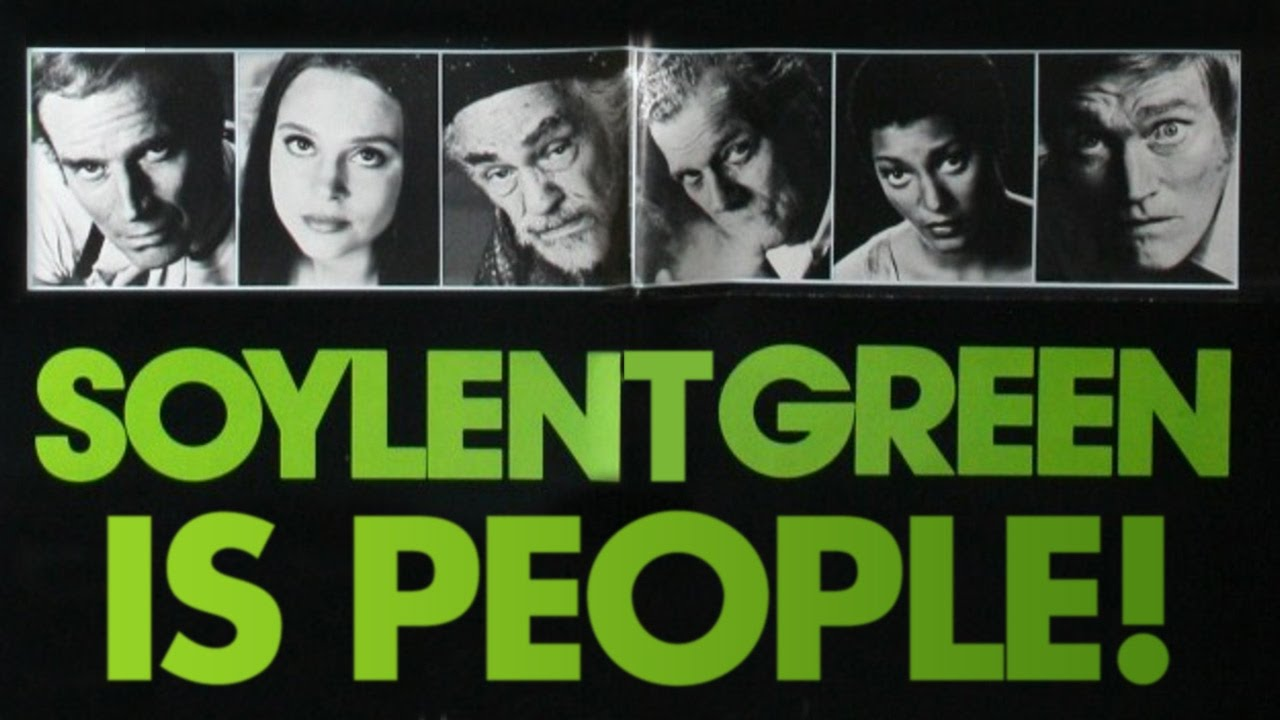 Soylent green is people classic movie scene youtube for Soylent green is people