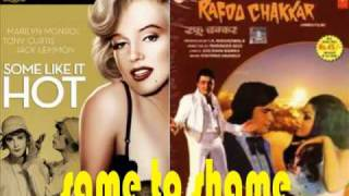 """Rafoo Chakkar"" (1975) Vs ""Some Like it Hot"" (1959)"