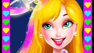 ПРОКЛЯТИЕ ВЕДЬМЫ! ПРИНЦЕССА устраивает бал. Танец с принцем. Интересные мультики для детей.