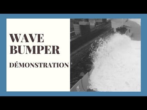WAVE BUMPER déploie sa protection anti submersion marine à Biarritz