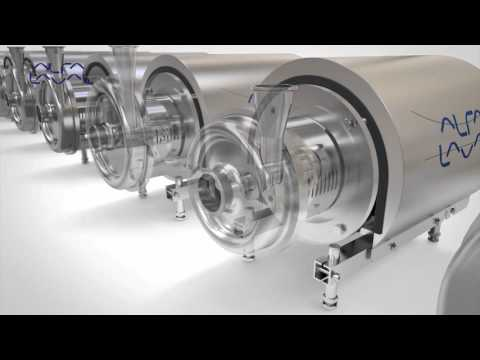 Alfa Laval LKH Premium centrifugal pump animation