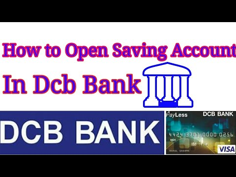 How to Open Online Saving Account in DCB BANK at home