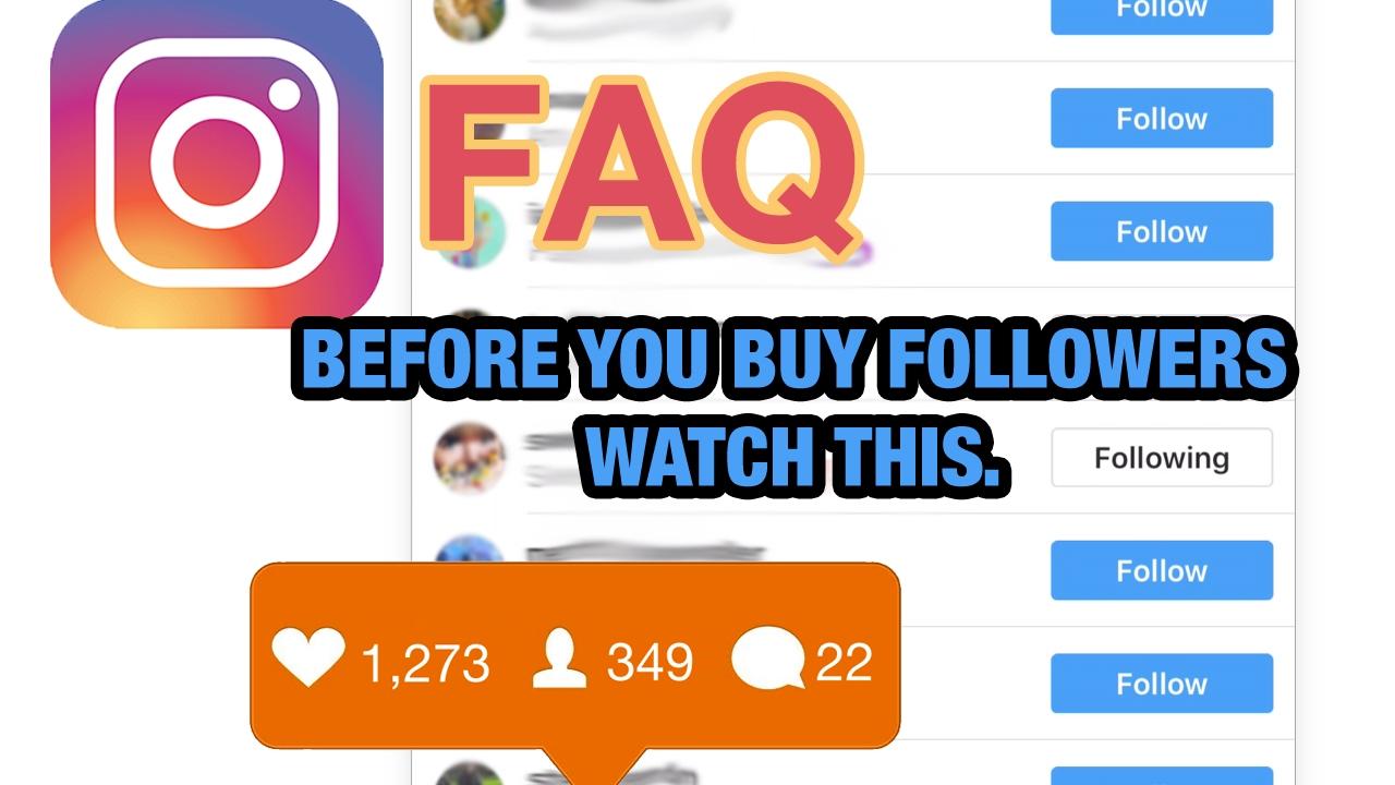 - Followers Instagram – Disappear Do Youtube Faq Fake Buying