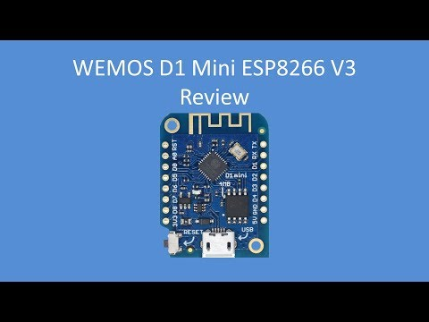 Tech Note 096 - Wemos D1 Mini V3 Review - YouTube