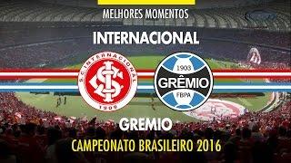 Melhores Momentos - Internacional 0 x1 Grêmio - Brasileirão - 03/07/2016