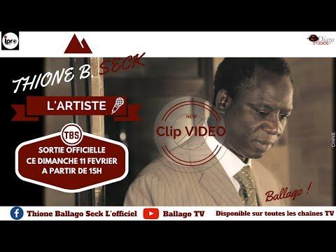 """Thione Seck dévoile un nouveau clip """"L'artiste"""""""