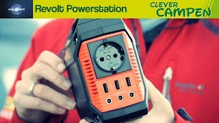 Revolt Powerstation: Was kann die Powerbank mit Schuko-Stecker? - Ausprobiert!   Clever Campen
