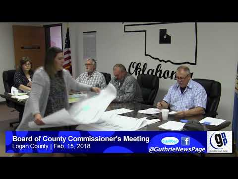 Board of County Commissioner's Meeting (Feb. 15, 2018)