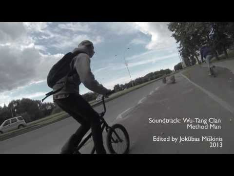 Elektrėnai ride 2013 | new bmx park