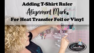 #withme CraftNCut: Adding Alignment Marks for T-shirt Centering Ruler by Embellish