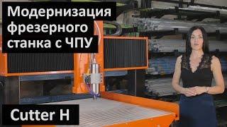 Обзор модернизации фрезерного станка с ЧПУ CUTTER H