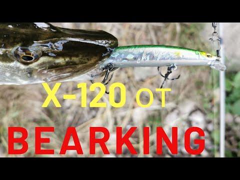 Новинка от BEARKING на Копию MEGABASS X-120   разловлен на первой Рыбалке