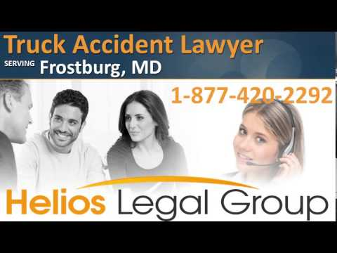 Frostburg Truck Accident Lawyer & Attorney - Maryland