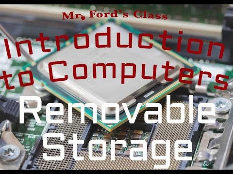 Computer Hardware : Removable Storage (02:04)