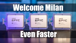 AMD EPYC 7003 Milan Performance, Features, and Intel Ice Lake/ Cooper Lake Competition