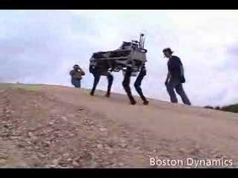 Boston Dynamics BIGDOG Robot