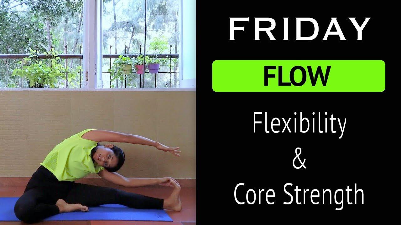 Friday Flow  Daily Yoga  Flexibility And Core Strength  Yogalates With Rashmi -1488