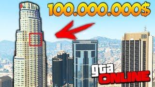 САМЫЙ ДОРОГОЙ ГАРАЖ НА 95 ЭТАЖЕ ЗА 100.000.000$ В GTA 5 ONLINE