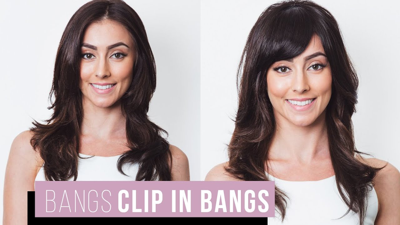 Soho Bangs Extensions Tutorial Youtube