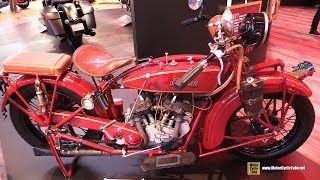 1927 Indian Scout Vintage Bike - Walkaround - 2019 EICMA