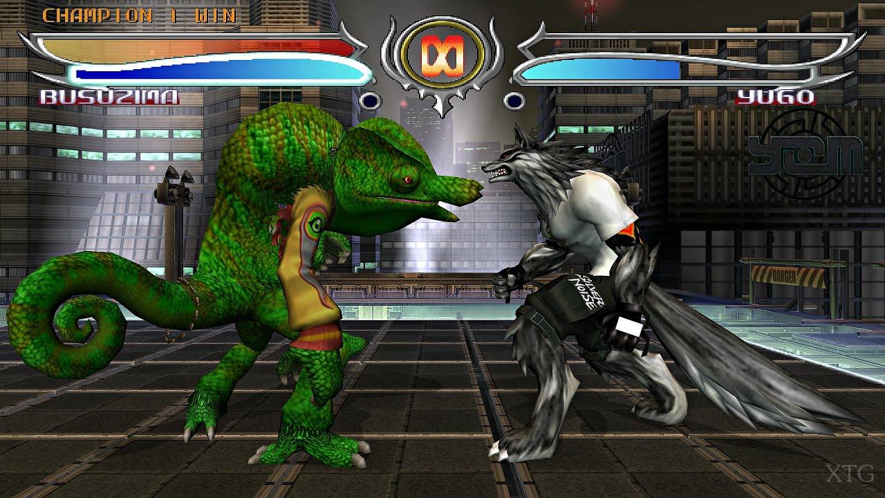 Bloody Roar 4 - All Beast Drives PS2 Gameplay HD (PCSX2)