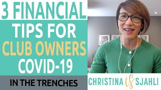 3 Financial Tips For Gym Owners During COVID-19 | Christina Sjahli, On-Demand CFO